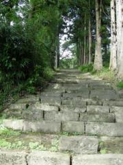 7.お寺への階段
