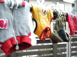 1.お洗濯