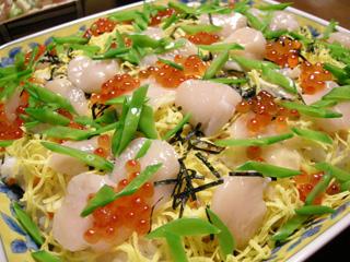 3.ちらし寿司