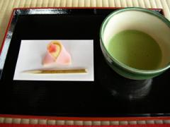 13.お抹茶のセット