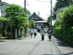 7.石田寺へ