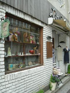 1.かわいいお店