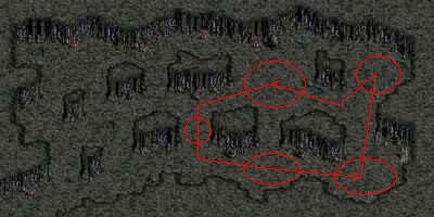呪いを受けたミズナの洞窟/宝石の部屋
