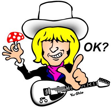 Brian Jones caricature