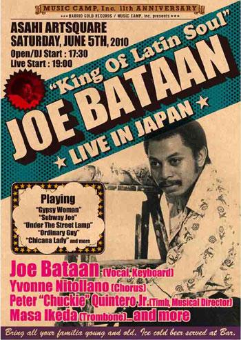 Joe Bataan Flyer
