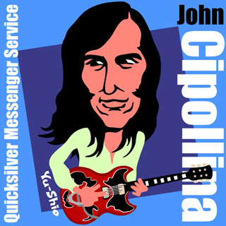 John Cipollina Quicksilver Messenger Service caricature
