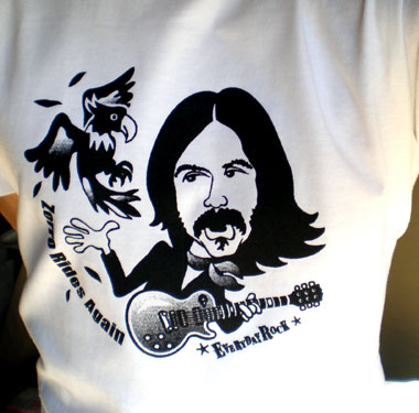 Les Dudek EverydayRock T Shirt Caricature