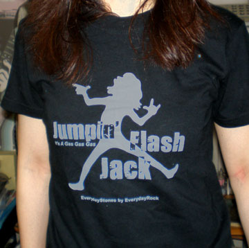 Jumpin' Jack Flash EverydayRock T Shirt