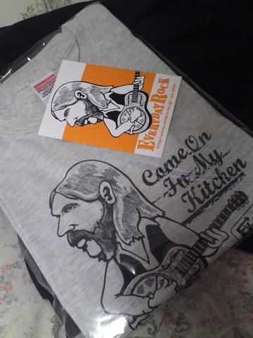 Duane Allman EverydayRock T Shirt Caricature
