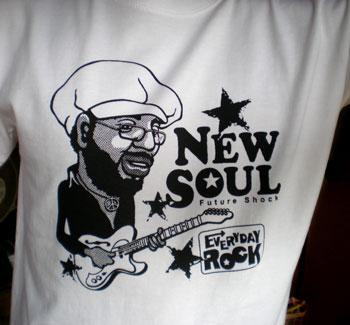 EverydayRock T Shirt Curtis Mayfield Caricature