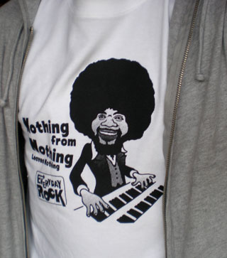Billy Preston T shirt Caricature