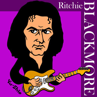 Ritchie Blackmore Caricature