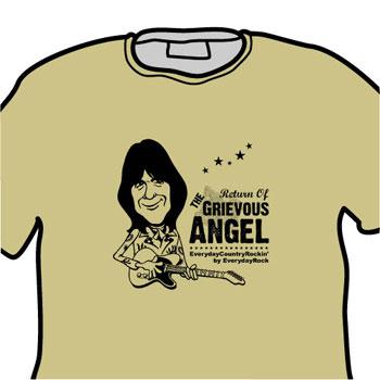Gram Parsons EverydayRock T Shirt