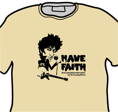 Johnny Thunders EverydayRock T Shirt