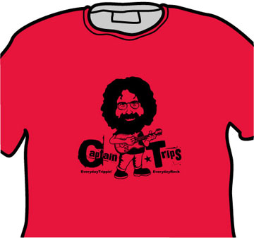 Jerry Garcia Grateful Dead EverydayRock T Shirt