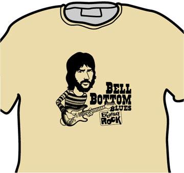 Derek & Dominos Eric Clapton EverydayRock T Shirt