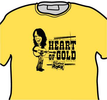 Neil Young EverydayRock T Shirt