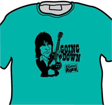 Jeff Beck EverydayRock T Shirt