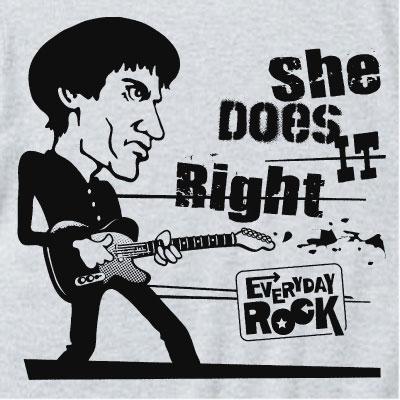Wilko Johnson Dr. Feelgood EverydayRock T Shirt