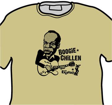 John Lee Hooker EverydayRock T Shirt