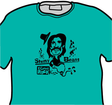 Captain Beefheart EverydayRock T Shirt