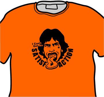 Mick Jagger Rolling Stones EverydayRock T Shirt
