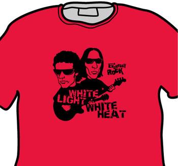 Velvet Underground Lou Reed John Cale EverydayRock T Shirt Caricature