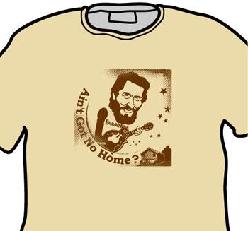 Levon Helm EverydayRock T Shirt Caricature