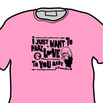 Brian Jones Rolling Stones EverydayRock T Shirt Caricature