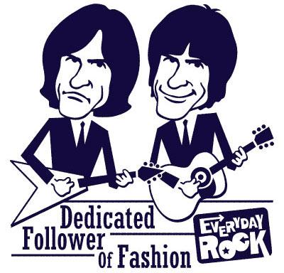 Ray Davies Dave Davies Kinks  EverydayRock T Shirt Caricature
