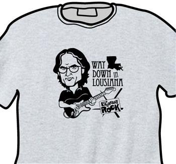 Sonny Landreth EverydayRock T Shirt Caricature