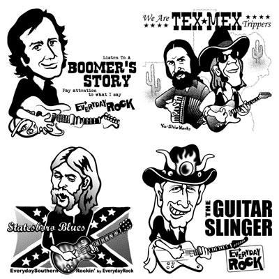 <br />EverydayRock T Shirt Caricature