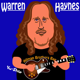 Warren Haynes Caricature