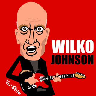 Wilko Johnson caricature