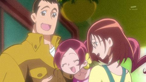 【ハートキャッチプリキュア!】第09回「スカウトされたお父さん!お花屋さんをやめちゃいます!?」