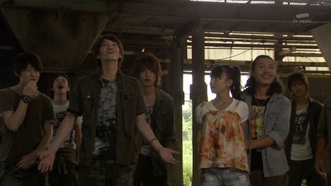 仮面ライダーW-最終回(第49話)「Eにさよなら / この街に正義の花束を」