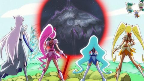【ハートキャッチプリキュア!】第37回「強くなります!試練はプリキュア対プリキュア!!」