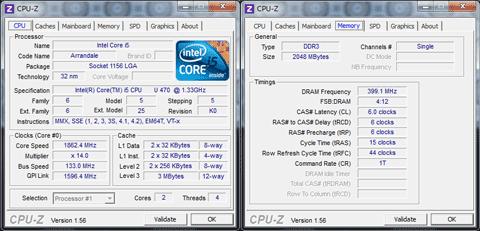 【EC19C-A52C】CPU-Z 1.56 64-bit