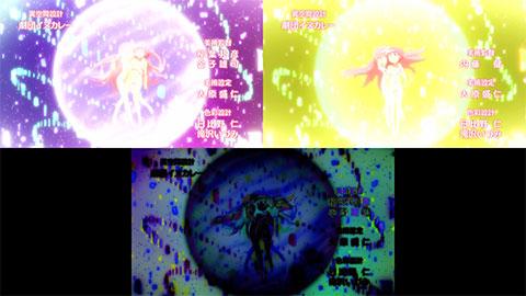 【魔法少女まどか☆マギカ】OP比較(第06話・第07話)