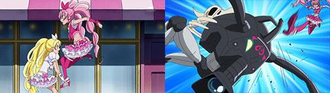 【スイートプリキュア♪】第05話「ドタバタ!テレビレポーターに挑戦だニャ♪」