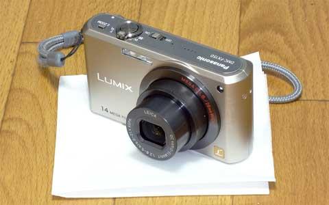 Cyber-shot DSC-WX10で撮影したLUMIX DMC-FX150
