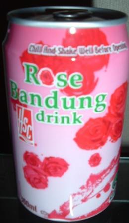 謎の薔薇ジュース、缶編