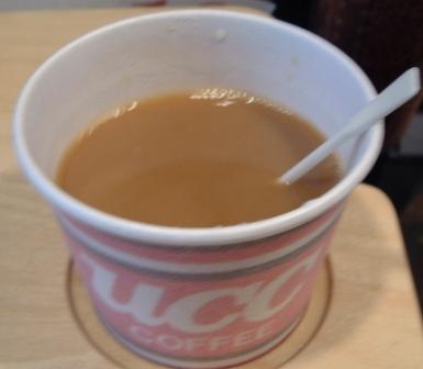 ビートルのコーヒー