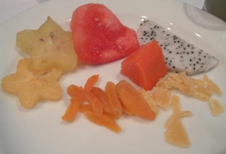 プテリパシフィックホテルの朝食