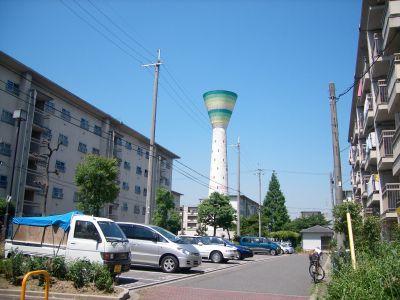 大阪府営門真住宅の遠景2