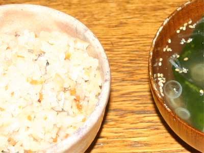 沖縄風炊き込みご飯