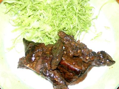 マグロ焼肉