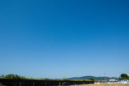 蒲郡の青空