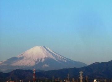 2011年 元旦の富士山