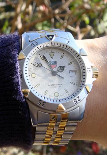new concept aef00 b13ca 腕時計好きの趣味ブログ 今日はタグホイヤー1500 ...